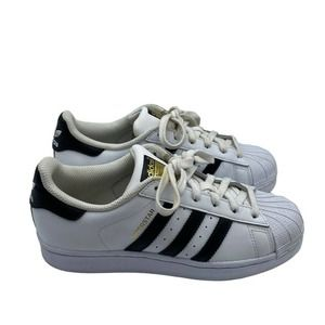Adidas Superstar Sneakers Black White Youth Boys
